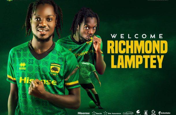 OFFICIAL: Richmond Lamptey joins Asante Kotoko till 2024