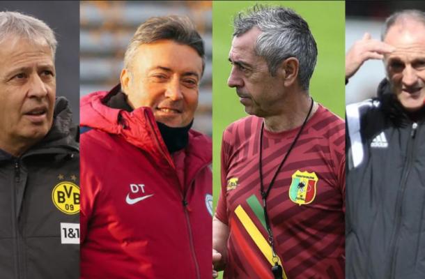 Four top European coaches scramble for vacant Black Stars job