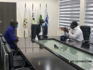 Vice President of Sierra Leone FA visits GFA
