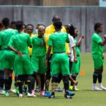 Black Queens hold training session in Surulere
