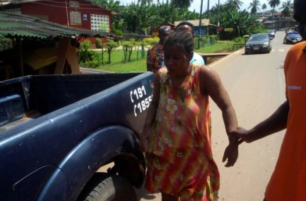 Why Takoradi woman is still in police custody after bail