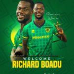 OFFICIAL: Kotoko announce the signing of Medeama midfielder Richard Boadu