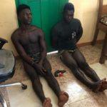 Two hardened Togolese criminals arrested