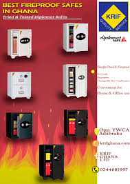 KRIF Ghana LTD launches promotion for new Fireproof and Burglar proof safes