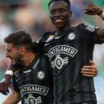 Kelvin Yeboah scores for Sturm Graz fresh after rejecting Ghana call up