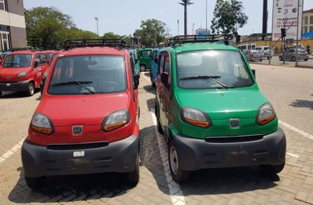 Gov't mini cars for Okada riders ready