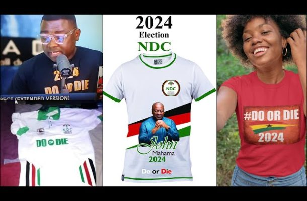 """Dr. Lawrence writes:  Stay on the message, print T shirts for """"Do or Die"""" in 2024"""