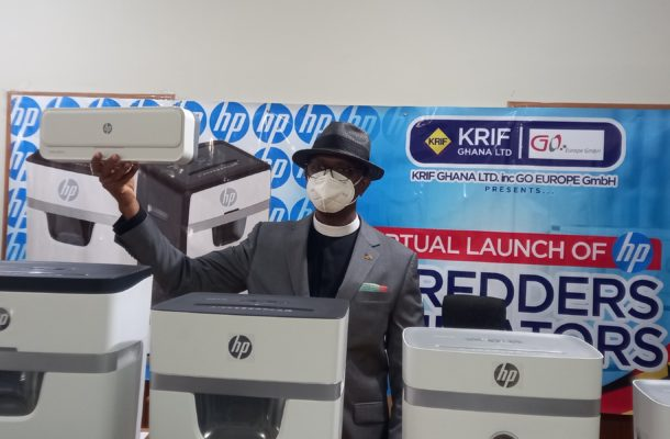 Krif Ghana LTD launches new HP Shredders and Laminators into African Market