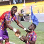 Isaac Mensah's goal gives Hearts a slender win over WAC