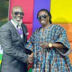 Prophet Kumchacha and Kwaku Bonsam 'smoke peace pipe'