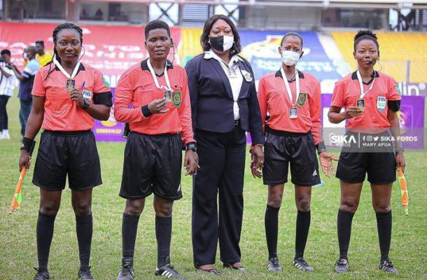 Match officials for regional women's zonal championship match day 3