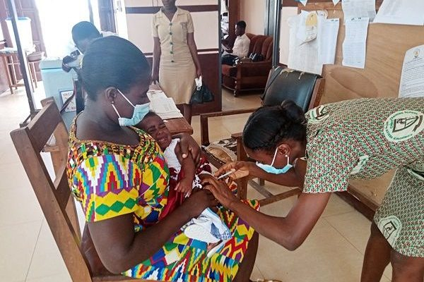 3,770 Techiman Residents Vaccinated Against COVID-19