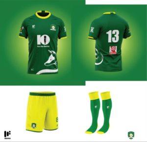 PHOTOS: Aduana Stars unveil new Mafro kits for coming season