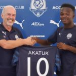 Accra Lions unveil new signing Frederick Akatuk