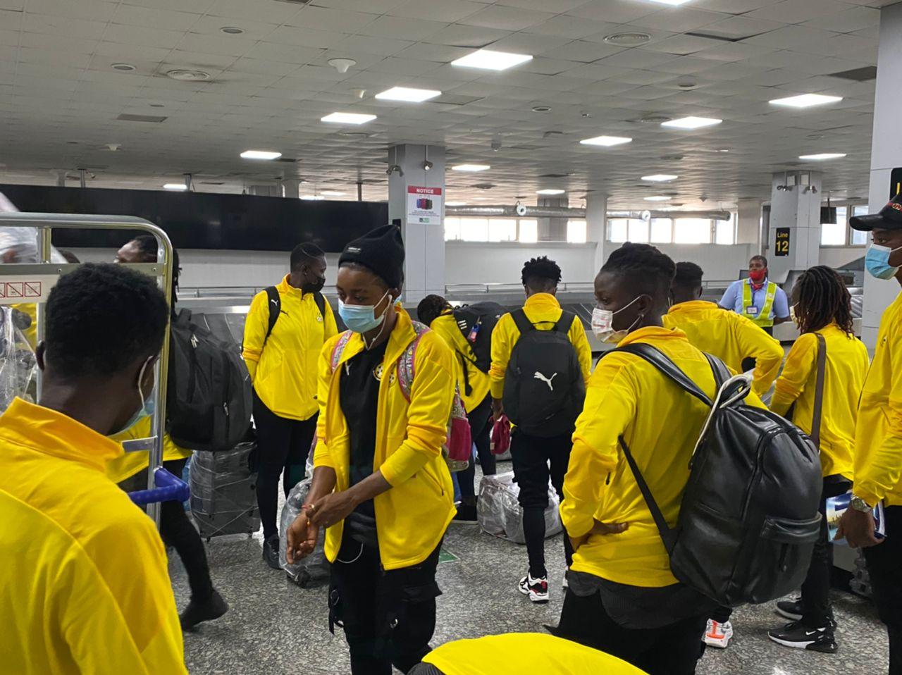 Black Queens arrive in Nigeria ahead of AWCON qualifier
