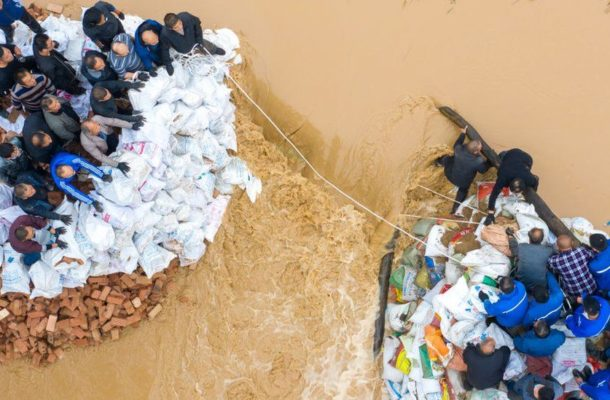 China floods: Nearly 2 million displaced in Shanxi province