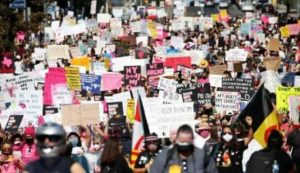 Thousands protest for abortion rights across US