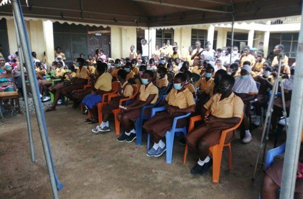 NGO empowers over 500 school girls on menstrual hygiene