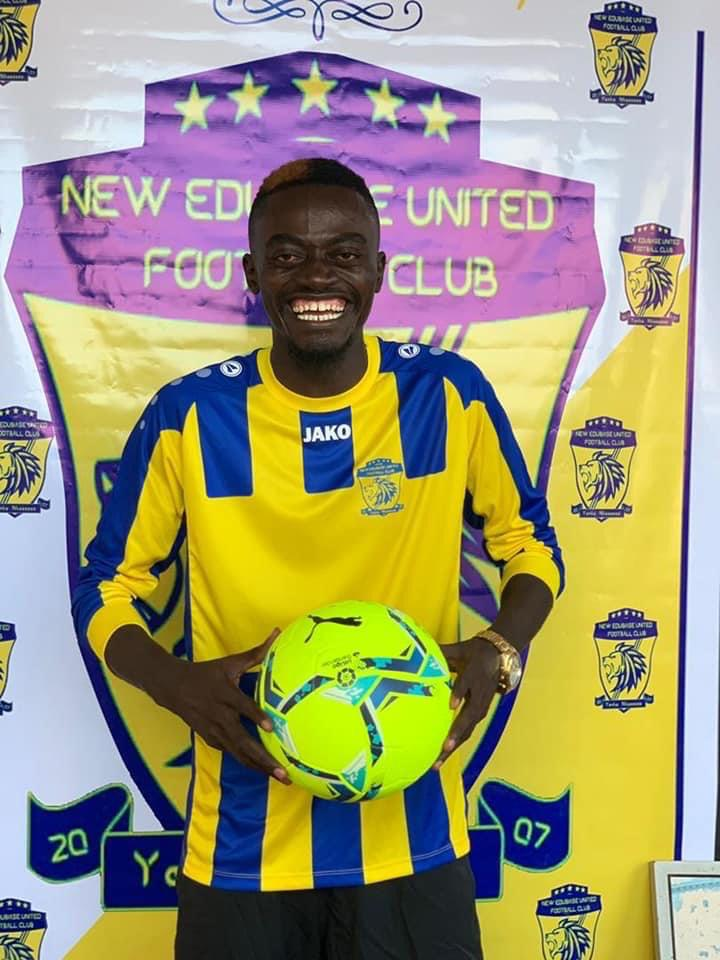 My target is to help New Edubiase qualify for the Premier League - Nkansah Lilwin