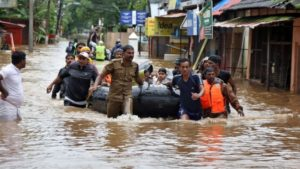 Kerala floods: At least 24 killed as rescue operation continues