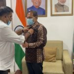 Accra-Industrial Rotary Club inducts Indian High Commissioner