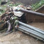 10-year old girl carried away by floodwaters in Koforidua