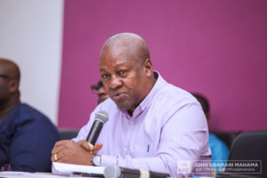 Mahama begins Volta, Oti Regions tour