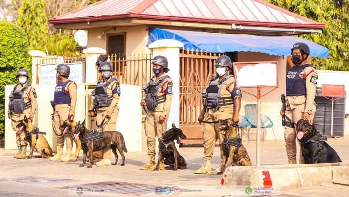 Police tackle crime with dogs