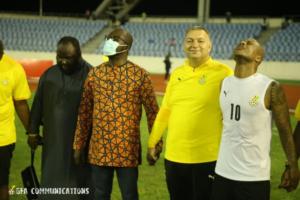 VIDEO: GFA boss tells Black Stars to prove they are 'big players' in Zimbabwe clash