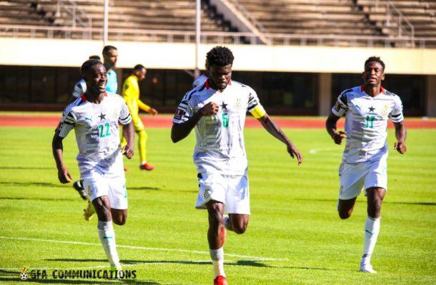 2022WCQ: Thomas Partey's free kick gives Ghana win over Zimbabwe in Harare