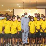 President Kurt Okraku charges Black Queens to crash Nigeria for AWCON ticket