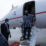 """Ghana's presidential jet turned into """"trotro"""" – picking and dropping African presidents"""