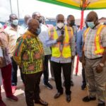 Akufo-Addo inspects €4m Atibie hospital project; $77m Mpraeso-Onyimso road