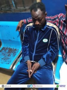 Just In: Funny Face arrested by the Police