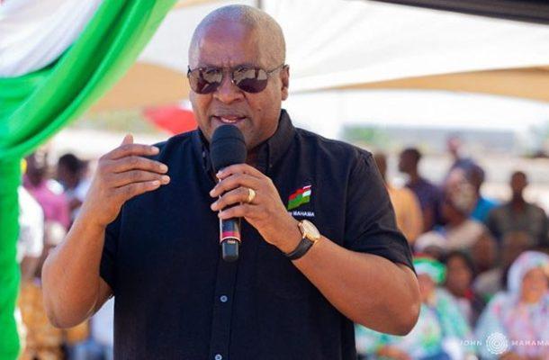 Mahama takes 'thank you tour' to Eastern Region