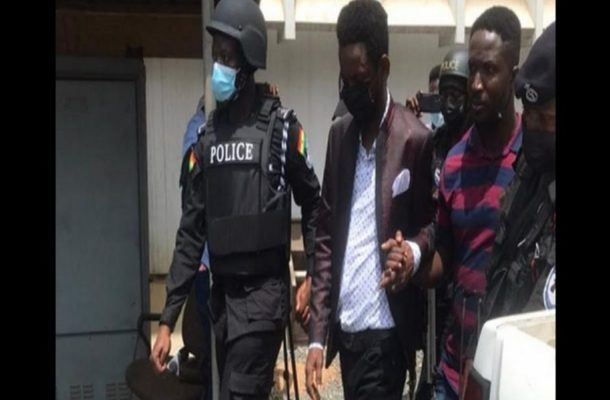 Jesus Ahuofe speaks on gun found in his room during police search