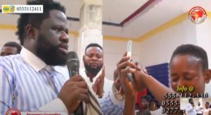 VIDEO: Prophet shares offertory to needy church members
