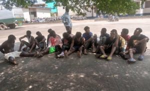 15 suspected armed robbers nabbed by Ashaiman Police